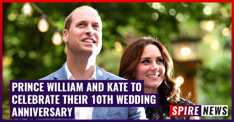 Prince William and Kate to Celebrate their 10th Wedding Anniversary