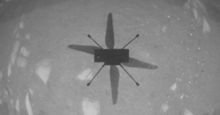 Ingenuity-NASA's first helicopter on another planet