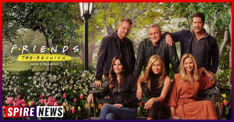 """Friends: The Reunion """"The one where they all got back together"""""""