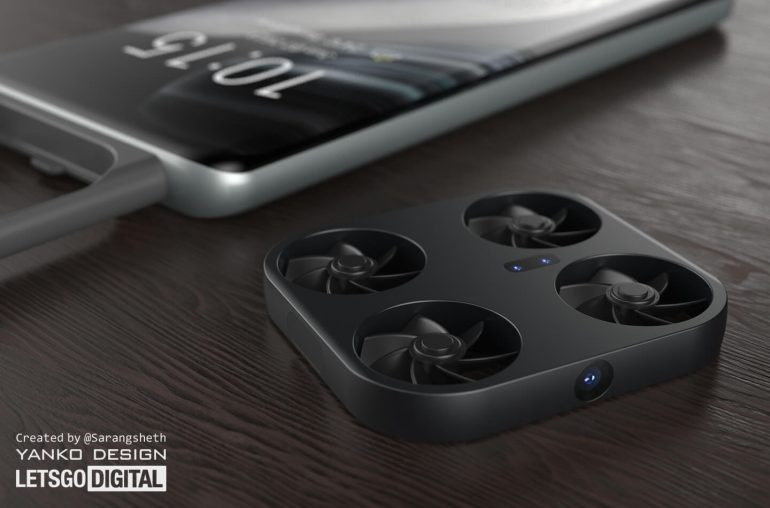 Vivo patents detachable flying camera on smartphone