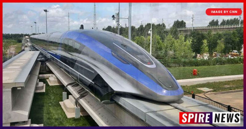 World's Fastest Train by China reaches 600kmph speeds