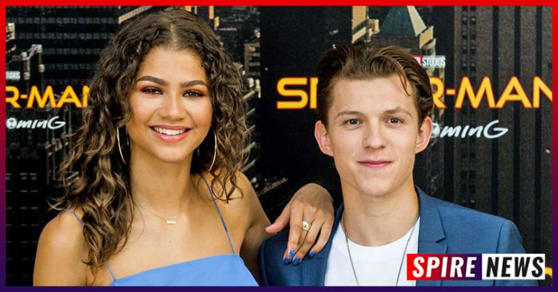 Zendaya and Tom Holland Spotted Kissing