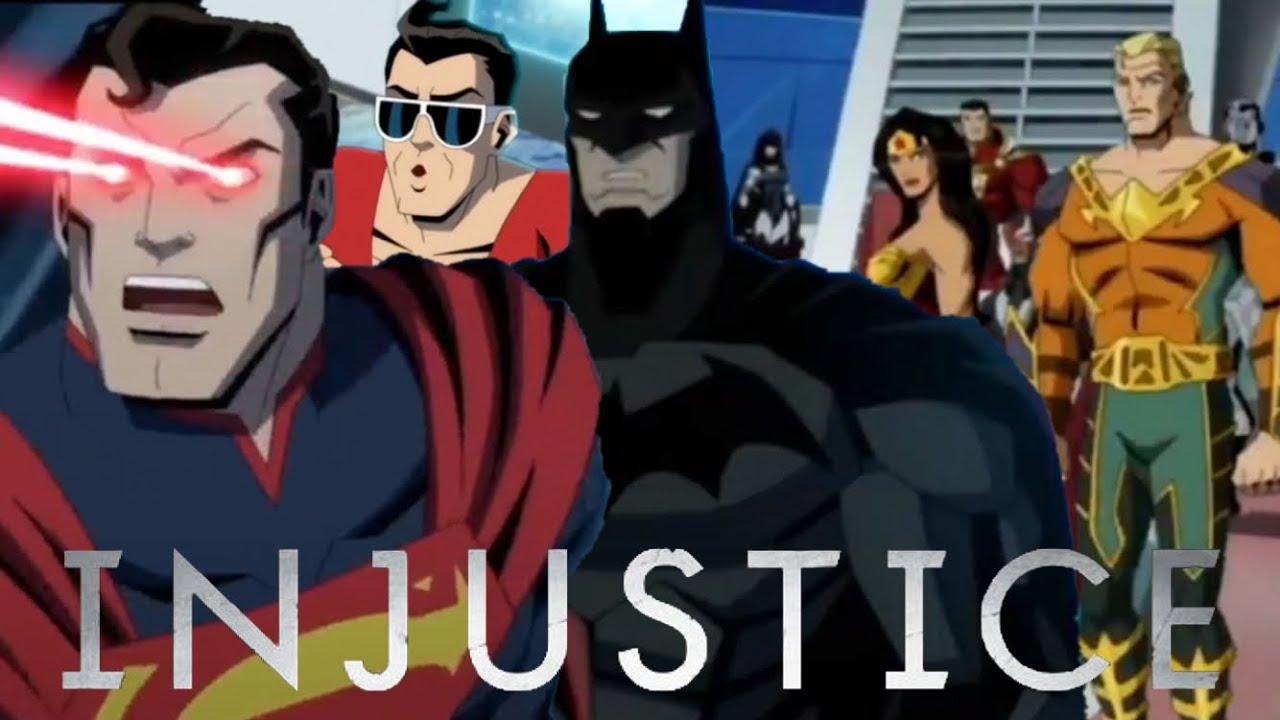 Injustice animated