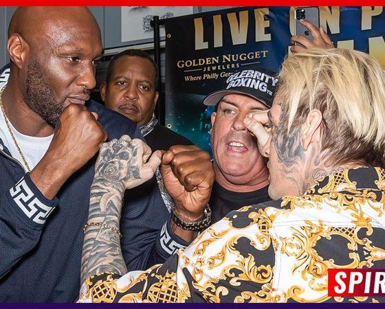 Lamar Odom vs Aaron Carter: Official Celebrity Boxing